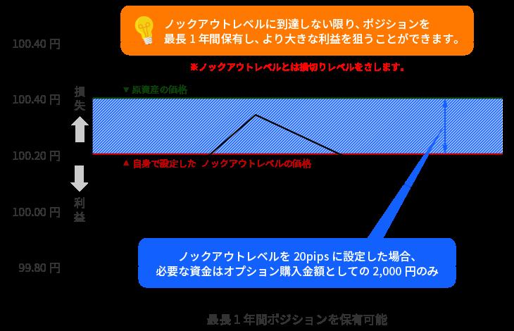 ノックアウトオプションのベアのイメージ